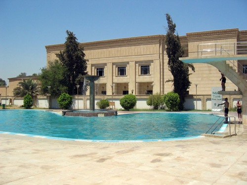 Swimming pool at the Republican Palace, 2003