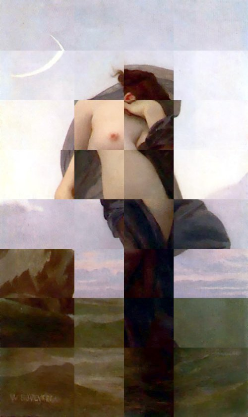 another messed-up painting by Bougereau
