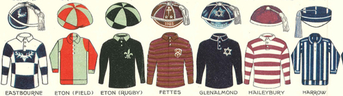 public school rugby kits