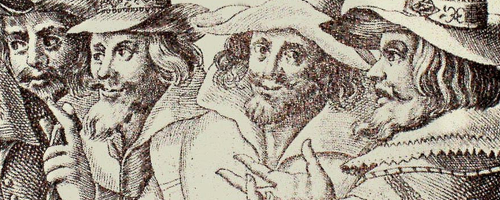 Guy Fawkes and cronies