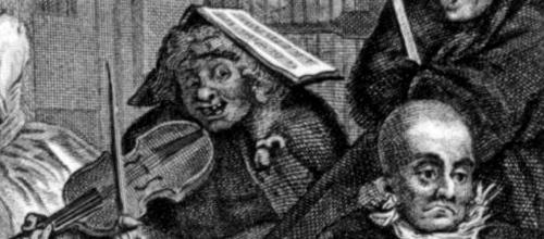 detail of Hogarth